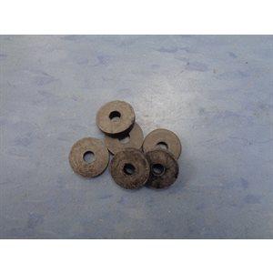 RONDELLES PLATES 3 / 8 M (6x)